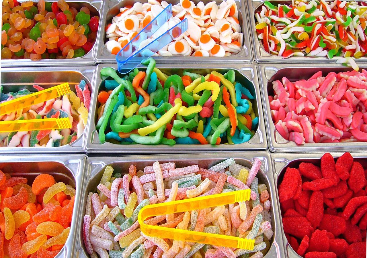 Des bonbons à goûter