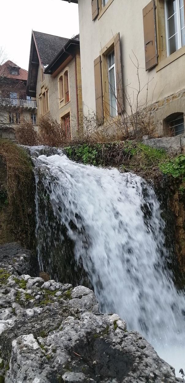 La cascade du Ruau à St-Blaise