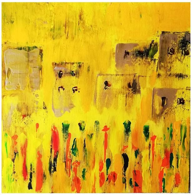 Peinture de Myriam Leresche