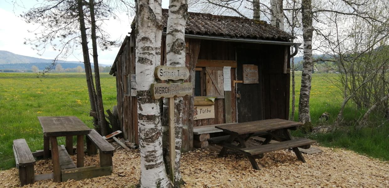 La cabane du Tourbier